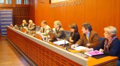 Pres. Mario Cotti e relatori